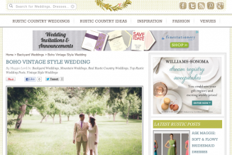 A Wedding Feature on Rustic Wedding Chic - Destination Wedding Photographer Briana Morrison