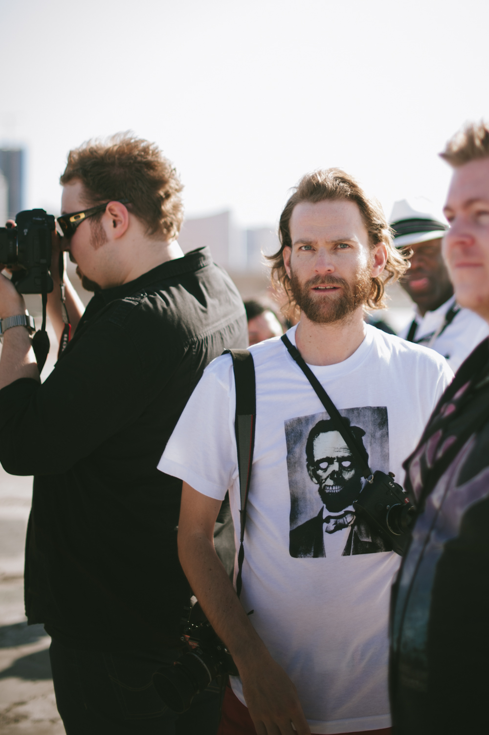Ryan Muirhead in Las Vegas with the Film Season 2 crew and [Framed] Network
