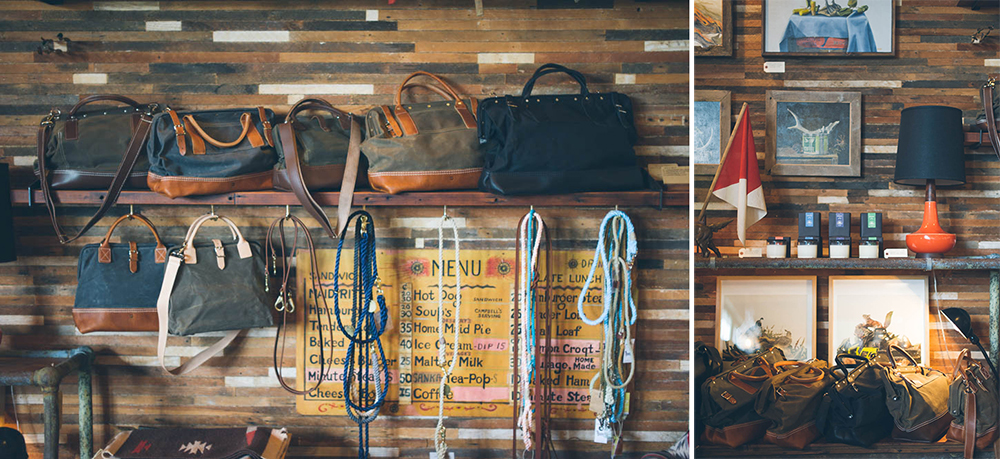 Bags and Other Goods at Beam & Anchor in Portland, OR