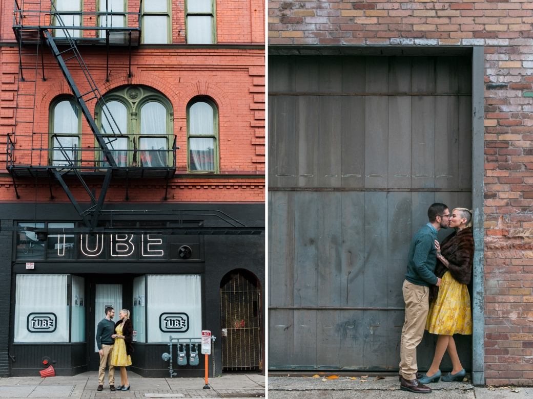 Cassandra and Ian at Tube - Portland Engagement Photography by Briana Morrison