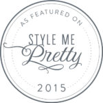 As Seen on Style Me Pretty 2015