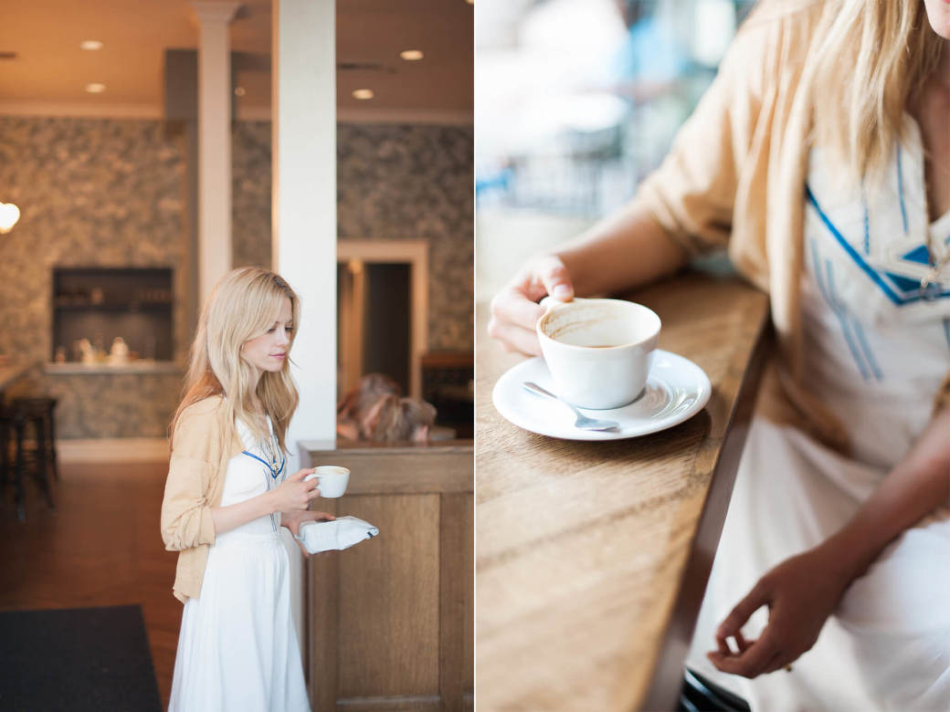 Claire Coffee at Barista in Portland, Oregon. Photo by Portland Editorial Photographer Briana Morrison