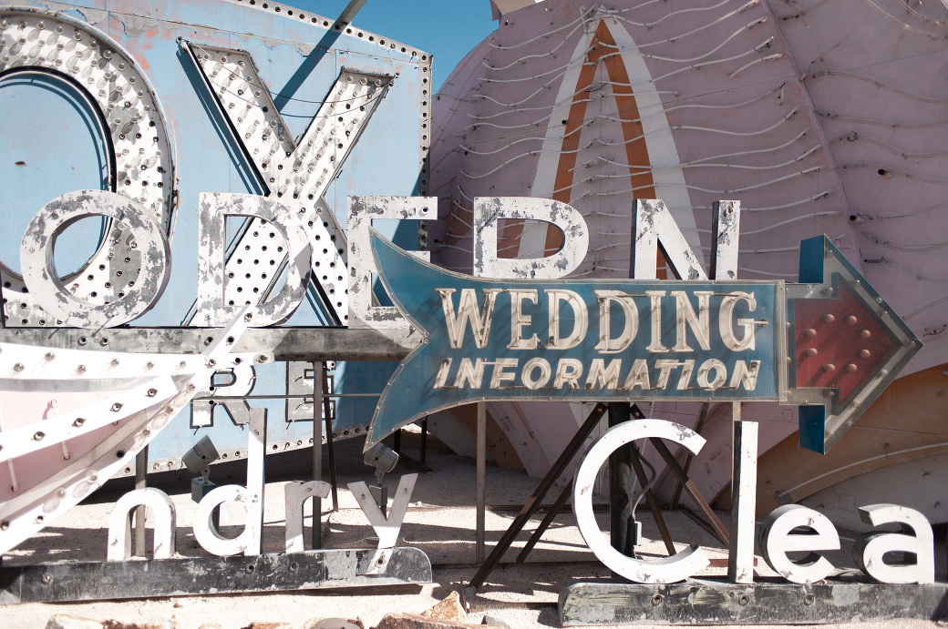 Old neon signs from the Neon Graveyard in Las Vegas, Nevada. Photography by Briana Morrison