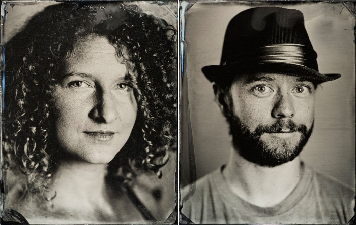 Tintype Photography, Photobooth, San Francisco, Black and White, Briana Morrison