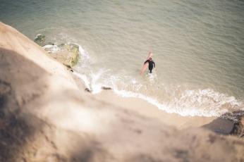 Lifestyle Photographer, Briana Morrison, Surfing, Santa Cruz, California