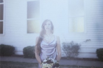 Engagement Ring, Bride, Redhead, Portrait, Portland Wedding Photographer, Alternative Wedding Photographer, Polaroid Wedding Photographer
