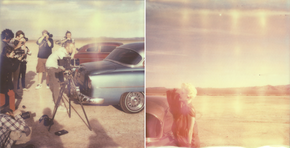 Lomography Challenge: Jan Scholz on the set of Film Season 2 Episode 3 - Polaroids by Briana Morrison