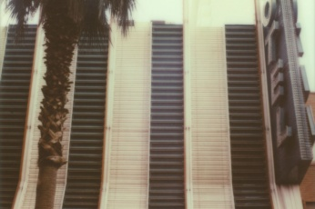 Polaroid of a Las Vegas Hotel by Briana Morrison