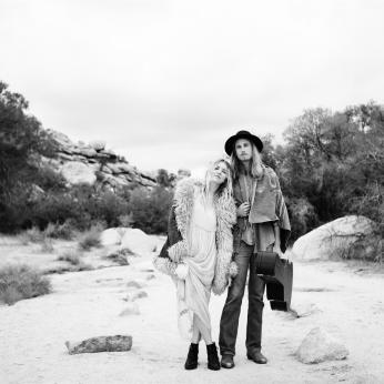 Amanda & Davey in Joshua Tree photographed by Portland Engagement Photographer Briana Morrison