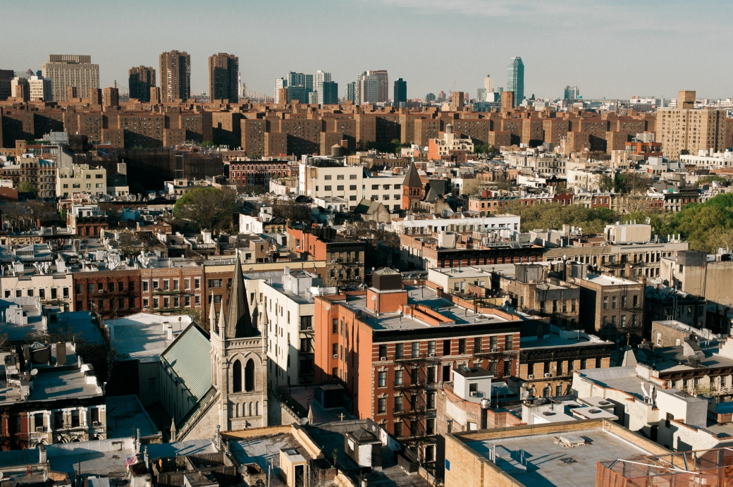 View of New York City / Manhattan from the Lower East Side - Travel Photography by Briana Morrison