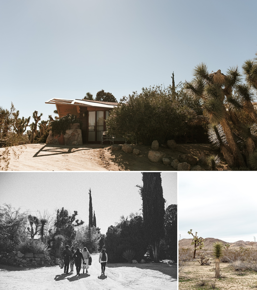 Super rad accommodations at the Joshua Tree Retreat Center. A review of Heck Yeah Photo Camp 2016 by Briana Morrison