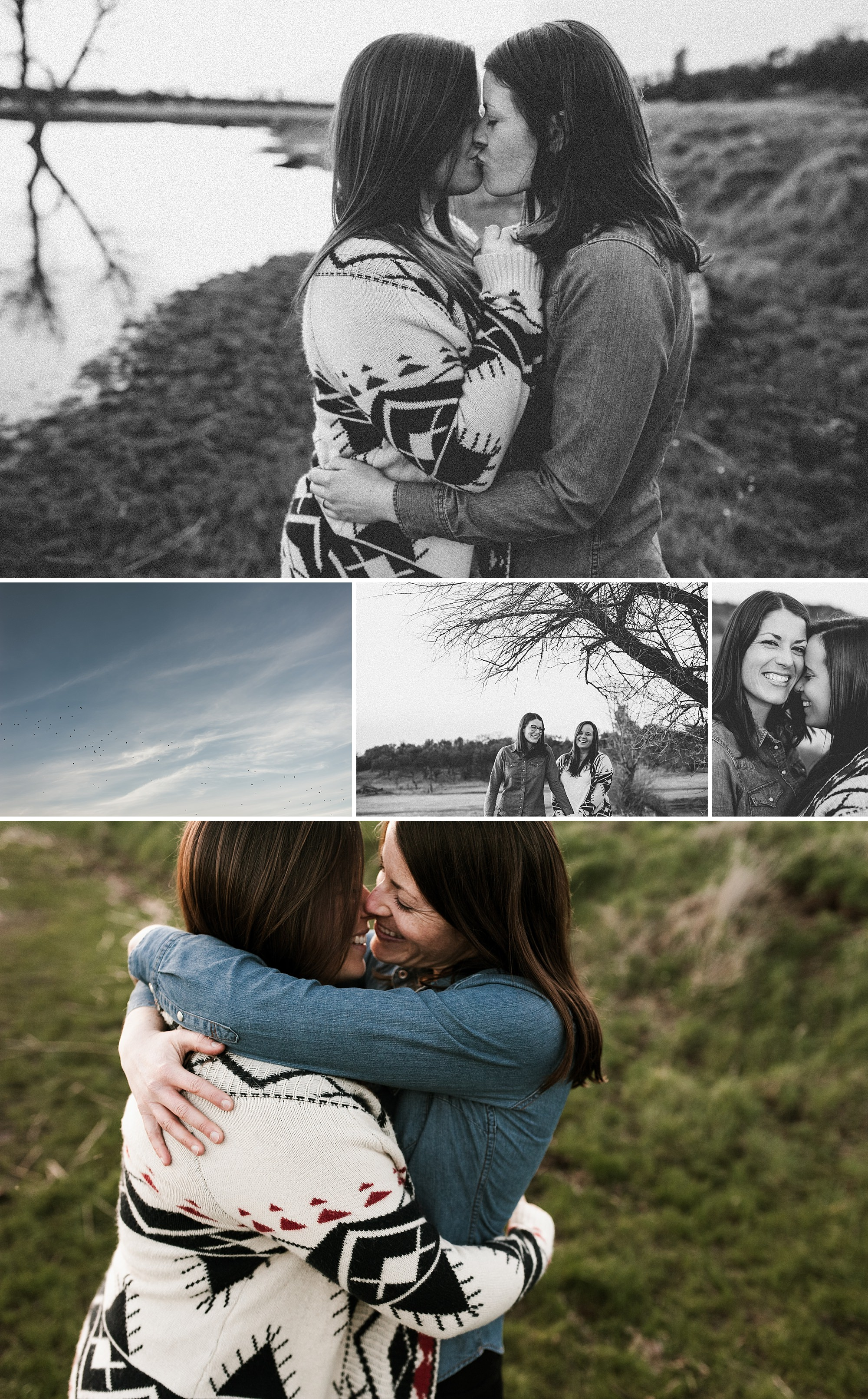 Two women get engaged in Chico, California. By Chico LGBTQ engagement photographer Briana Morrison
